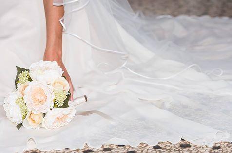 Dettaglio Abito da sposa Elena Spose