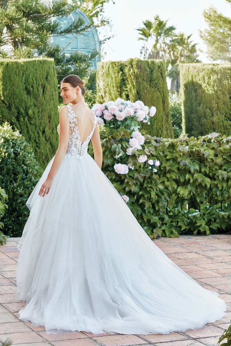 abito da sposa principesco atelier elena spose nove vicenza