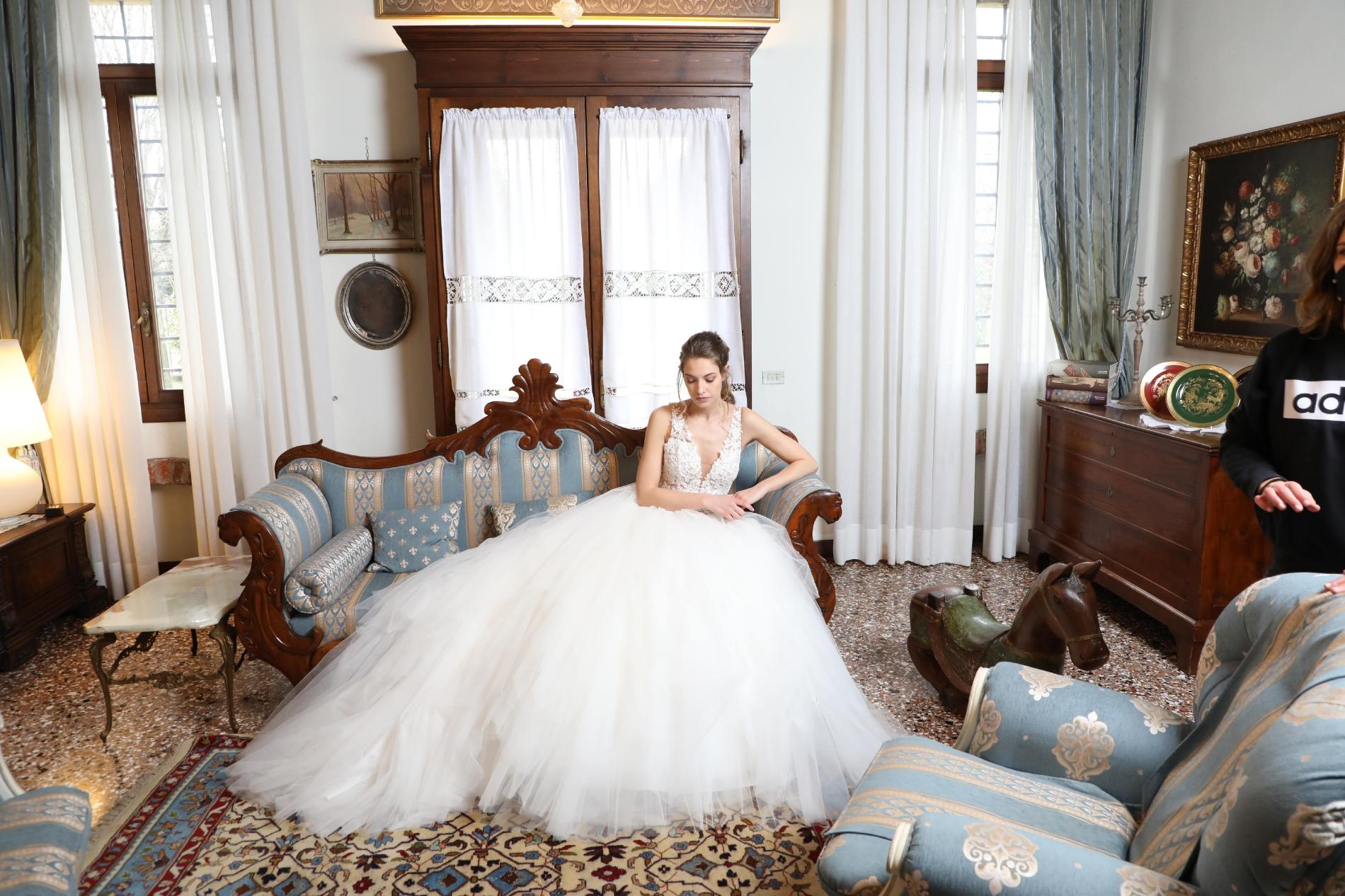 elena spose abito da sposa principesco
