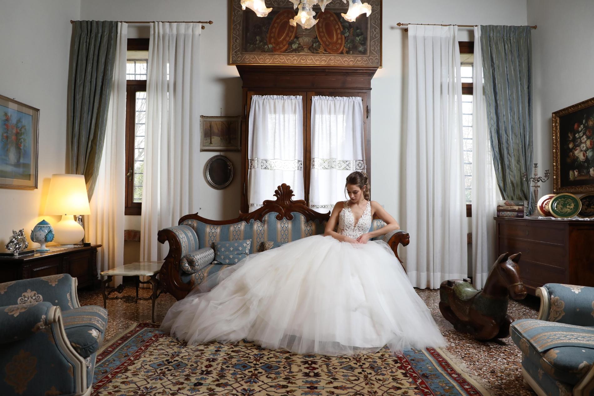vestito da sposa elena spose atelier nove marostica bassano del grappa