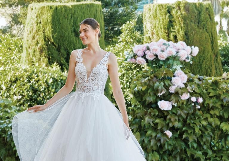 abito da sposa nuova collezione elena spose 2021 atelier abiti da sposa nove